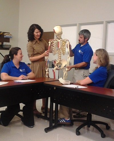 Welding physical therapy subjects in college